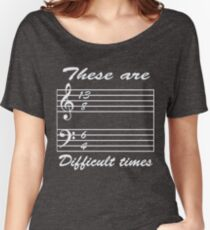 13 8 6 4 these are difficult times Women's Relaxed Fit T-Shirt