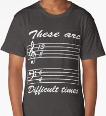 13 8 6 4 these are difficult times Long T-Shirt