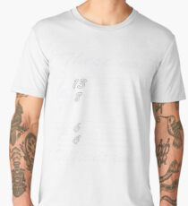 13 8 6 4 these are difficult times Men's Premium T-Shirt