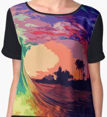 Ocean of Colors Women's Chiffon Top