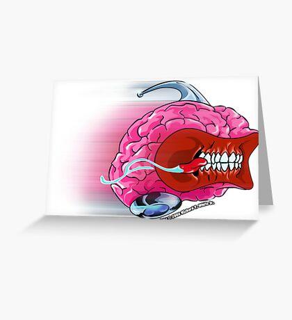 Brain Rush Greeting Card
