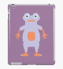Summer Purple Yeti Monster iPad Case/Skin