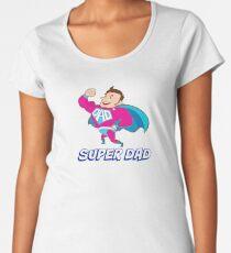 Superhero Dad Women's Premium T-Shirt