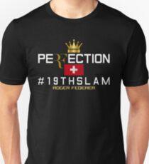Roger Federer Perfect Tennis Unisex T-Shirt
