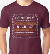 Pythagorean Triple Day 2017 8-15-17 T-Shirt