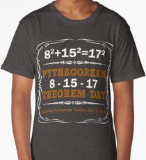 Pythagorean Triple Day 2017 8-15-17 Long T-Shirt