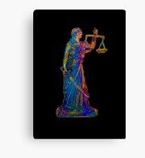 Lady Justice 21C Canvas Print