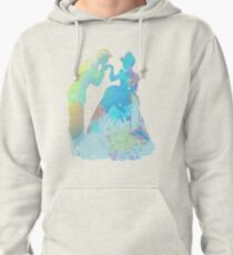 Prince and Princess Inspired Silhouette Pullover Hoodie