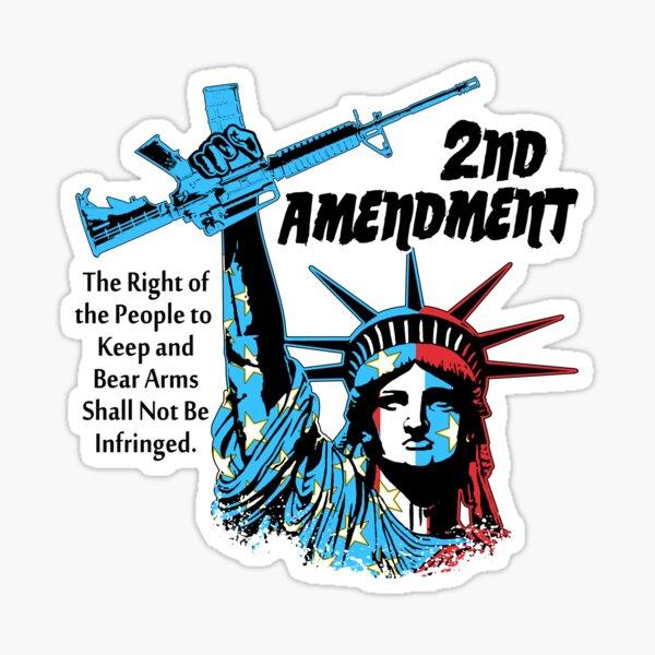 2nd Amendment - Liberty Sticker