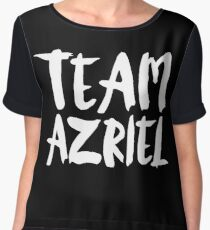 Team Azriel - A Court of Thorns and Roses Women's Chiffon Top