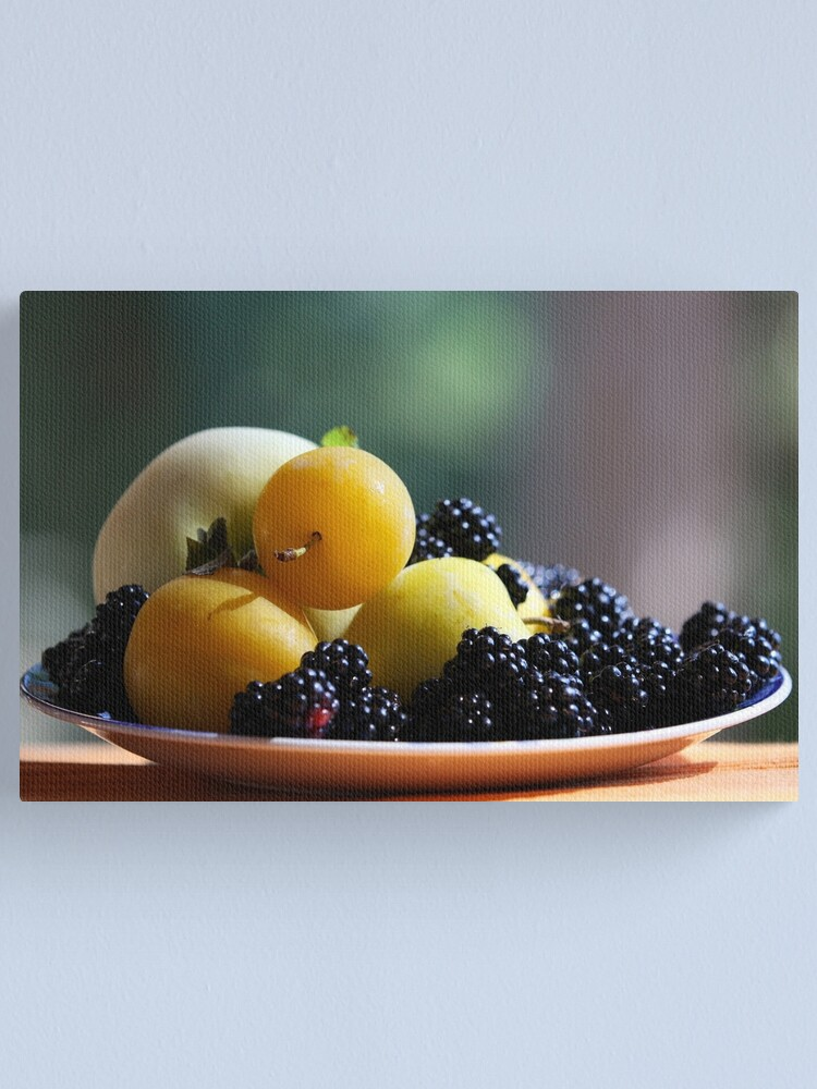 Alternate view of August Still Life  Canvas Print