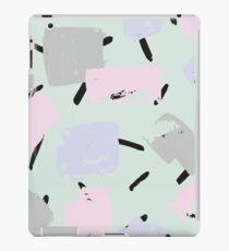 Brush strokes pattern iPad Case/Skin