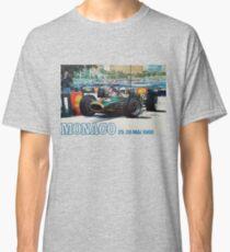 Gran Prix de Monaco, 1968, originales Vintage-Plakat Classic T-Shirt
