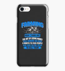 Farming Definition iPhone Case/Skin