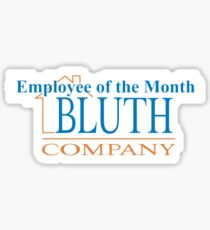 Bluth Company Employee of the Month- Arrested Development Sticker