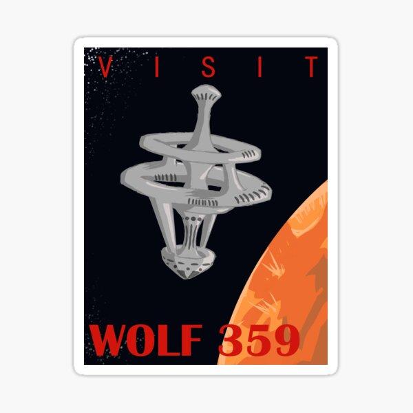 Visit Wolf 359 Sticker