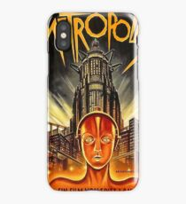 Metropolis, old science fiction movie poster iPhone Case/Skin