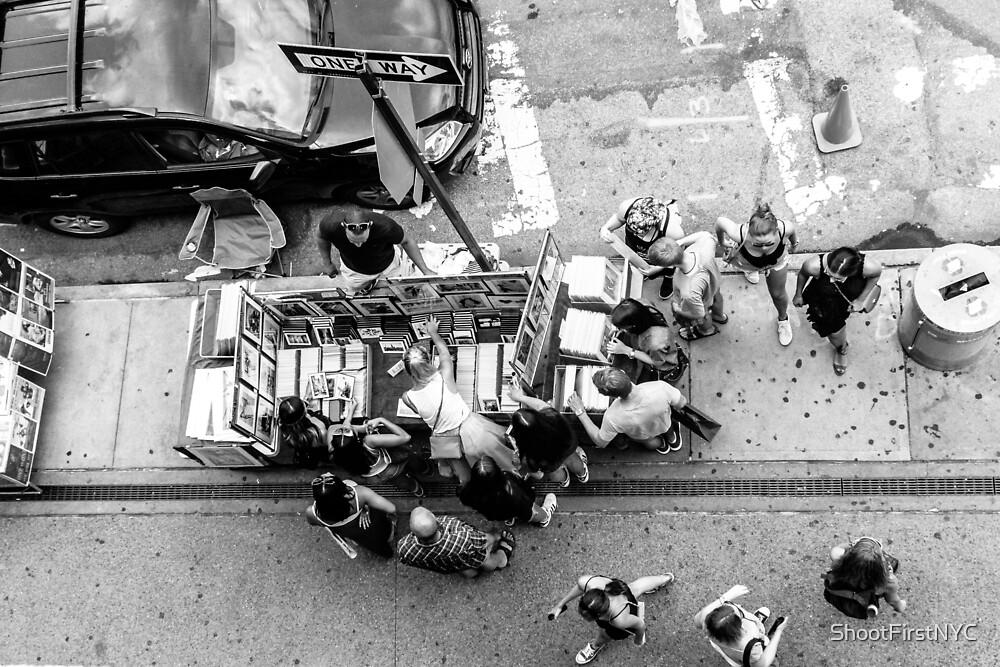 «Vendedor de banquetas en Nueva York» de Sean Sweeney