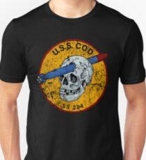 U.S.S. COD Submarine Navy WWII Skull Logo T-Shirt
