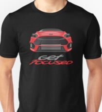 Get Focused Red T-Shirt
