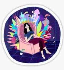 Life in a bubble Sticker