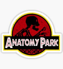 Anatomy Park Rick & Morty Sticker