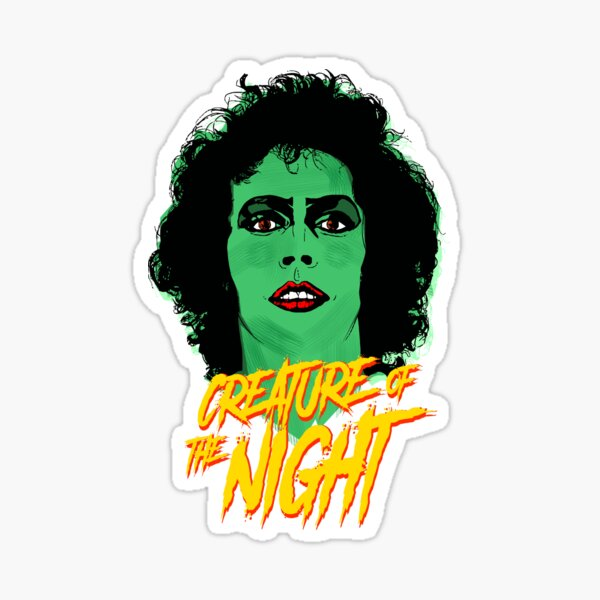 The Rocky Horror Picture Show - Creature of the Night Pegatina