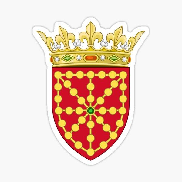 Escudo, Reino de Navarra Pegatina