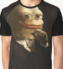 Distinguished Pepe - Meme - Pepe the Frog Graphic T-Shirt