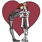 Shepard and Mordin by caitlin2006