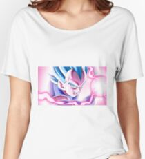Vegeta God Blue Women's Relaxed Fit T-Shirt