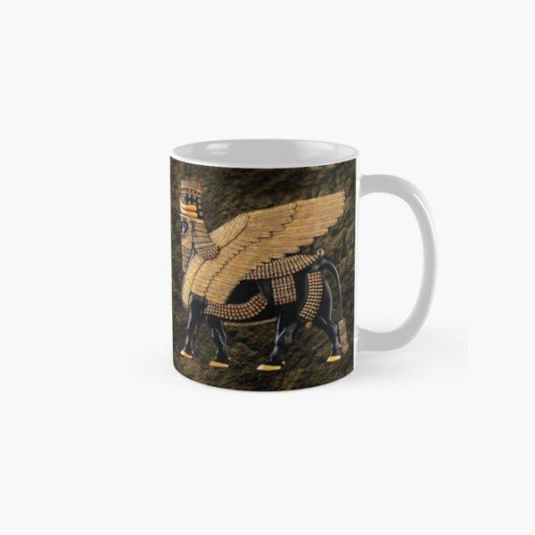 ALADLAMMU ASSYRIAN WING MAN BULL MUG Classic Mug