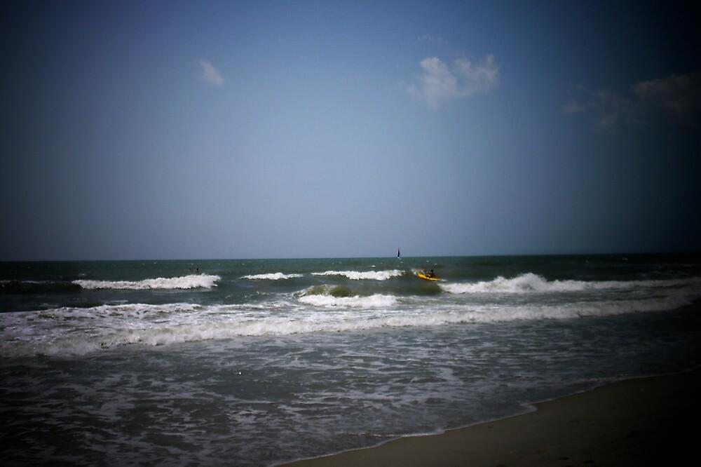"""Ocean Waves in the Spotlight"" by lharker"