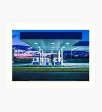 Kings Road Petrol Art Print