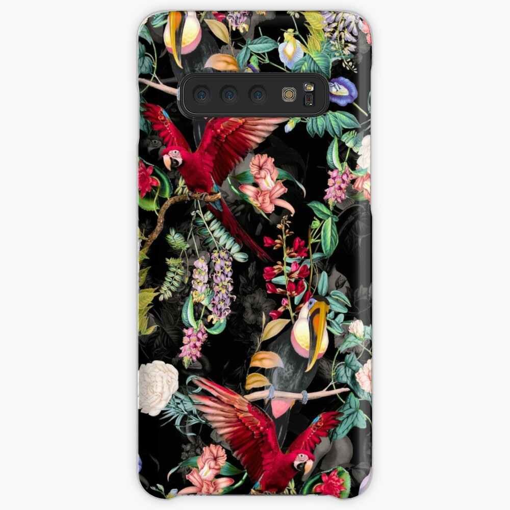 Floral and Birds IX Case & Skin for Samsung Galaxy