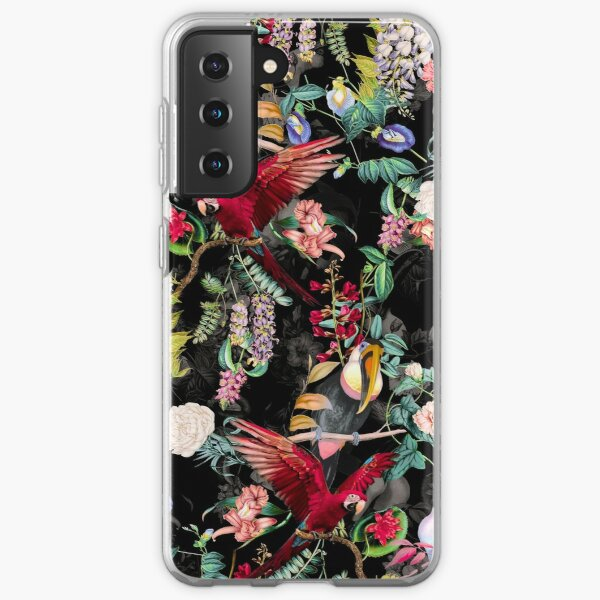 Floral and Birds IX Samsung Galaxy Soft Case