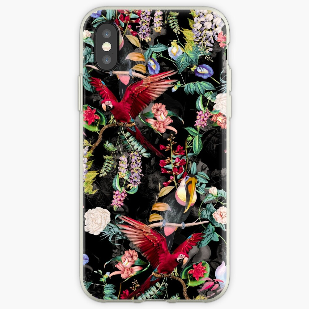 Floral and Birds IX iPhone Case & Cover
