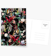 Floral and Birds IX Postcards