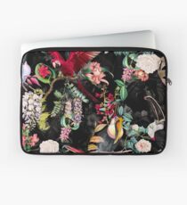 Floral and Birds IX Laptop Sleeve