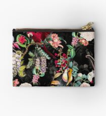 Floral and Birds IX Studio Pouch