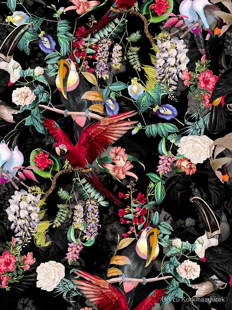 Floral and Birds IX by burcukyurek