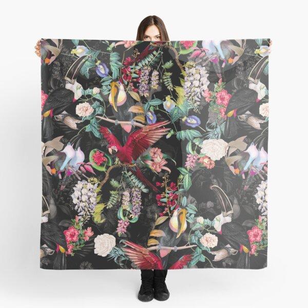 Blumen und Vögel IX Tuch