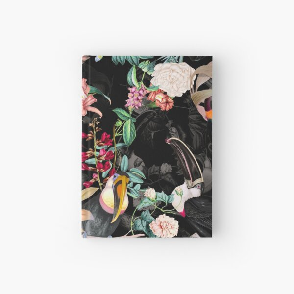 Floral and Birds IX Hardcover Journal