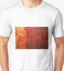 Not just another brick in the wall, 120-80cm, 2017, oil on canvas T-Shirt