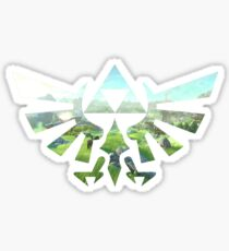 Breath of the Wild Triforce Sticker