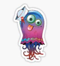 Superfast Jellyfish Sticker