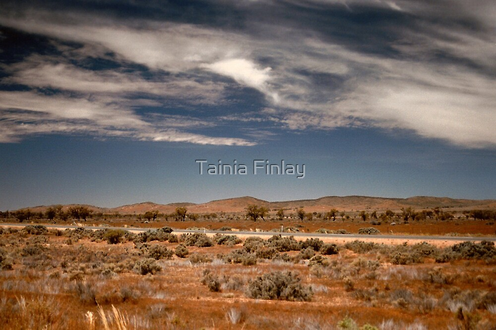 The Road to Broken Hill by Tainia Finlay