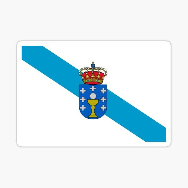 Bandera de Galicia (España) Pegatina