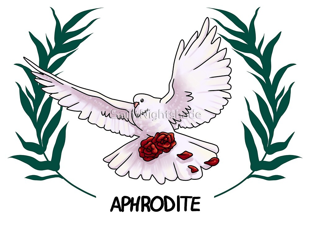 Aphrodite Inspired Cabin Symbol By Saintnightshade Redbubble