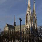Votivkirche, Vienna Austria by Mythos57